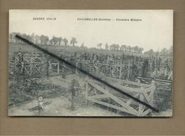 CPA  Souple - Chuignolles   - (Somme) -  Cimetière Militaire  - Guerre 1914-18 - France