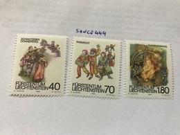 Liechtenstein Folklore 1983 Mnh - Liechtenstein