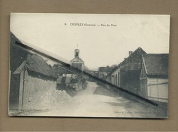 CPA  Souple - Chipilly  - (Somme ) - Rue Du Pont - France