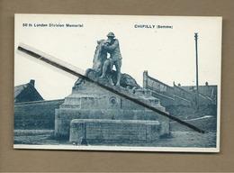 CPA  Rétrécit  - Chipilly  - (Somme ) -  58 Th London Division Memorial - France