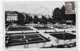 BRIVE EN 1946 - N° 100 - VUE D' ENSEMBLE DES NOUVEAUX JARDINS THIERS - FORMAT CPA VOYAGEE - Brive La Gaillarde