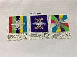 Liechtenstein Olympic Winter Games Sarajewo 1983 Mnh - Liechtenstein