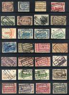 Y46 - Belgium - Railway Parcel Stamps - Used Lot - Bahnwesen