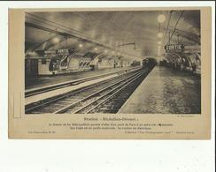 Transports Par METRO _Station  RICHELIEU-DROUOT_  Voir Description_G  F  24 X 14 - Chemin De Fer