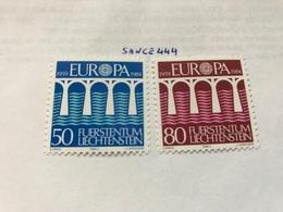 Liechtenstein Europa 1984 Mnh - Liechtenstein