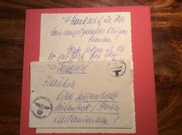 """France Deutsche Feldpost 1941 """"LUFTGAUPOSTAMT PARIS"""" Lettre (Frankreich Brief Allemagne Poste Militaire 1939-45 WW2 War - Marcophilie (Lettres)"""