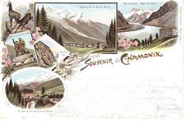 Souvenir De Chamonix Litho - Chamonix-Mont-Blanc