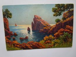 L'Esterel. Illustration De Morel De Tanguy Serie 28 / 9 - France