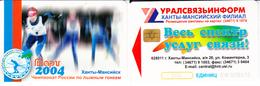 Phonecard   Russia. Khanty- Mansiysk  500 Units - Russia