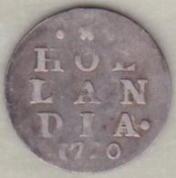Netherlands HOLLANDIA . 2 STUIVERS 1770 .Argent . KM#  48 - [ 1] …-1795 : Période Ancienne
