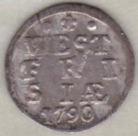 Netherlands  WEST FRIESLAND. 2 STUIVERS 1790 .Argent . KM#  106.2 - [ 1] …-1795 : Période Ancienne