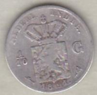 Netherlands East Indies  . 1/10 Gulden 1891. Argent . KM# 304 - [ 4] Colonies