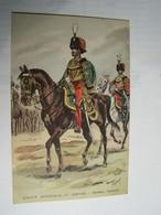T70  UNIFORME GARDE IMPERIALE IIéme Empire Guides Colonel Maurice Toussaint - Uniformen