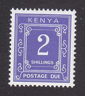 Kenya, Scott #J8, Mint Hinged, Postage Due, Issued 1985 - Kenya (1963-...)