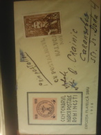 Used Envelope From Romania 1958, Centenarul Mărcii Poștale Românești - Roemenië