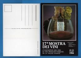 (Riz.2) AOSTA - 17^ ESPOSIZIONE Dei VINI Della VALLE D'AOSTA. 15/23/09/1984.   Vedi Descrizione - Non Classificati