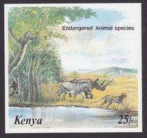 Kenya, Scott #359, Mint Never Hinged, Endangered Species, Issued 1985 - Kenya (1963-...)