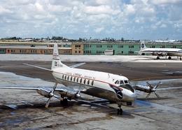 Aviation Postcard-782 Cubana Viscount 755 CU-T605 - 1946-....: Moderne