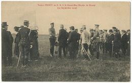 Visite à Nancy France Grand Duc Nicolas De Russie 1912 - Russia