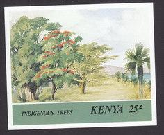 Kenya, Scott #364, Mint Never Hinged, Trees, Issued 1986 - Kenya (1963-...)