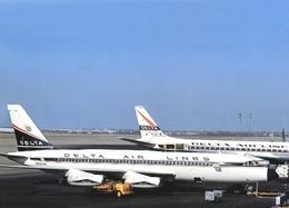 Aviation Postcard-783 Delta Air Lines Convair 880 N8814E - 1946-....: Moderne
