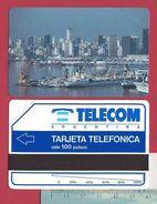 First D1 100 U Buenos Aires Harbour Units Scale 56mm Telecom Argentina 15000 Ex - 1991 - URMET Neuve Mint - Argentine