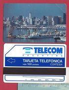 C1 First 100 U Buenos Aires Harbour CORTESIA Units Scale 56mm Telecom Argentina 5000 Ex - 1991 - URMET Neuve Mint - Argentine