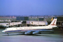 Aviation Postcard-784 Eastern Air Lines Douglas DC-8-20 N8617 - 1946-....: Moderne