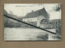 CPA   Rétrécit Et Souple   - Mézerolles  -(Somme) - Le Moulin - France
