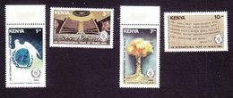 Kenya, Scott #365-368, Mint Hinged, Int'l Peace Year, Issued 1986 - Kenya (1963-...)