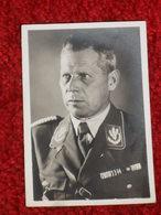 PETITE PHOTO CARTONNEE D'ADOLPH HUHNLEIN. SERIE 22 N°13. CORPSFUHRER DES NSKK - 1939-45