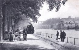 29 - Finistere -  MORLAIX -  Le Port Et Le Cours Beaumont - Train Vapeur - Morlaix