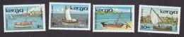 Kenya, Scott #384-387, Mint Hinged, Ships, Issued 1986 - Kenya (1963-...)