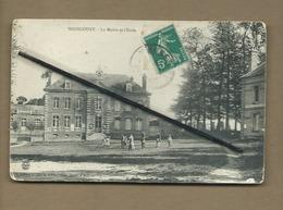 CPA  Abîmée - Woincourt  - La Mairie Et L'école - France
