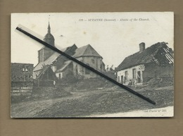 CPA  Rétrécit   - Suzanne (Somme ) - Abside Of The Church  -(église ) - France
