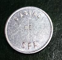 Jeton De 1 Franc Du Casino De Spa - Belgique - Chips Casino Token - Casino