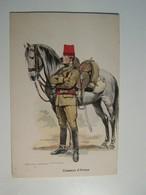 T71  WW1   UNIFORMES CHASSEURS D AFRIQUE  Edmond Lajoux - Uniformes