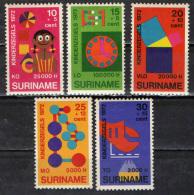 SURINAME - 1972 - GIOCATTOLI - PRO INFANZIA - SEE 2 SCANS - MNH - Suriname