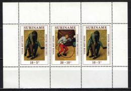 SURINAME - 1971 - OPERE D'ARTE DI PETER BRUEGHEL - MNH - Suriname