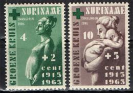 SURINAME - 1965 - CINQUANTENARIO DELLA CROCE VERDE - MNH - Suriname