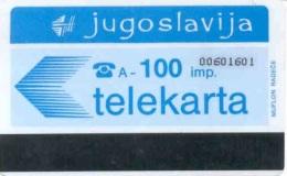 YOUGOSLAV : 27 100 Imp 9842 LOGO Numbers (8 Digits) USED - Jugoslavia