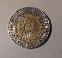 Argentina 1995 1 Peso Bimetallica - Argentina