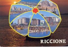 Riccione - 8026 - Formato Grande Viaggiata – E 5 - Rimini