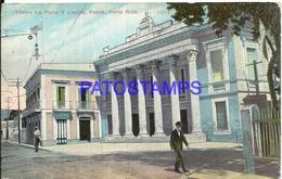 92452 PUERTO RICO THEATER LA PERLA & CASINO PONCE BREAK POSTAL POSTCARD - Postcards