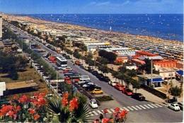 Riccione - Spiaggia - 50923 - Formato Grande Viaggiata – E 5 - Rimini