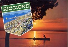 Riccione - Tramonto - 95 - Formato Grande Viaggiata – E 5 - Rimini
