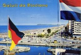Saluti Da Riccione - 55 - Formato Grande Viaggiata - E 5 - Rimini