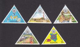 Kenya, Scott #408-413, Mint Hinged, Posts And Telecom Corp, Issued 1987 - Kenya (1963-...)