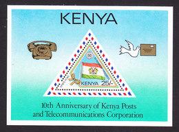 Kenya, Scott #413, Mint Never Hinged, Posts And Telecom Corp, Issued 1987 - Kenya (1963-...)