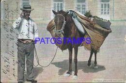92472 CUBA HABANA COSTUMES SELLER FRUITS POSTAL POSTCARD - Postcards